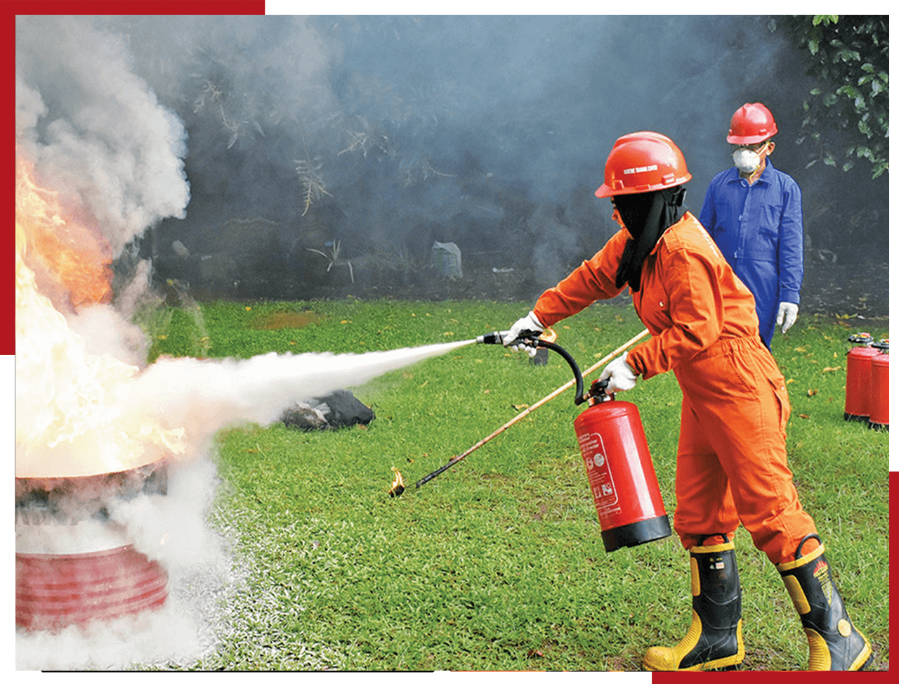 Fire Fighting & First Aid Trainings